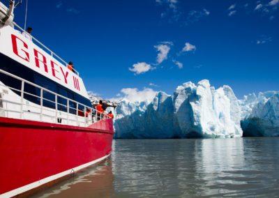Navegación al Glaciar Grey
