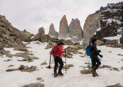 Full Day Trekking Base de las Torres Primera Clase
